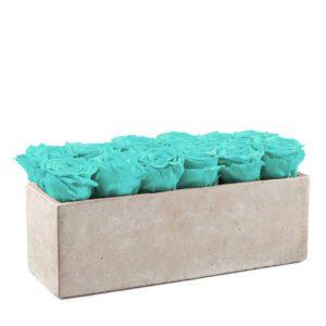 gray slate turquoise