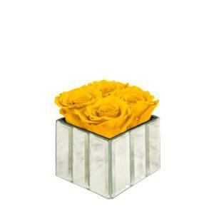 mini modern bright yellow