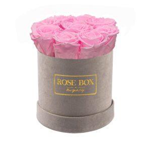 small gray pink blush