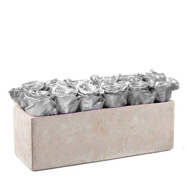 gray slate silver