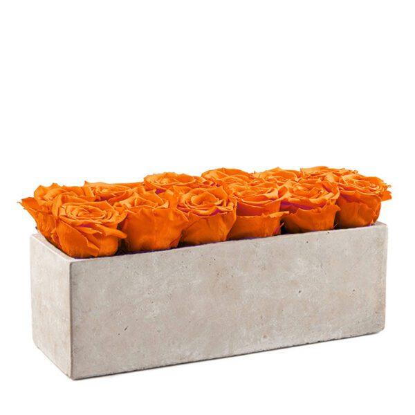 gray slate orange
